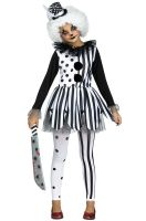 Killer Clown Girl Child Costume