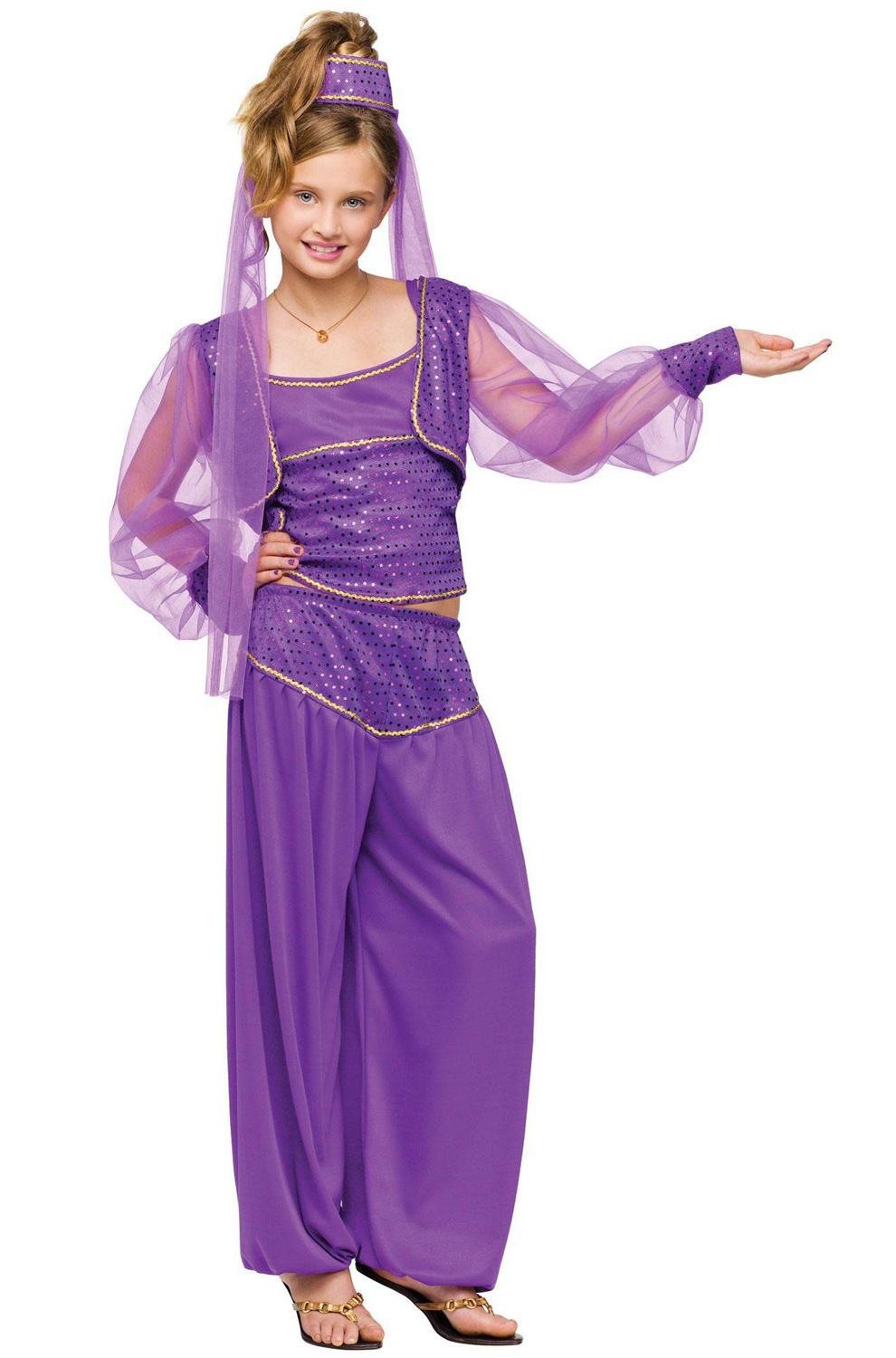 Dreamy Genie Child Costume