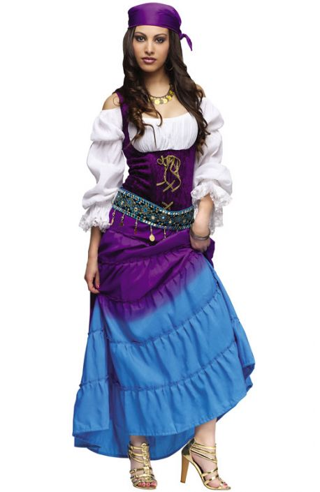 Gypsy Moon Adult Costume  sc 1 st  Pure Costumes & Gypsy Moon Adult Costume - PureCostumes.com