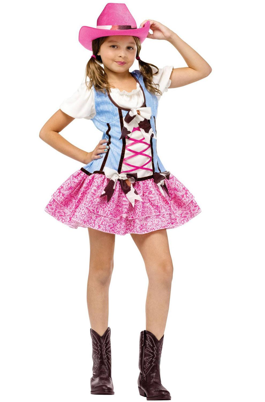 Western Rodeo Sweetie Cowboy Child Halloween Costume Ebay