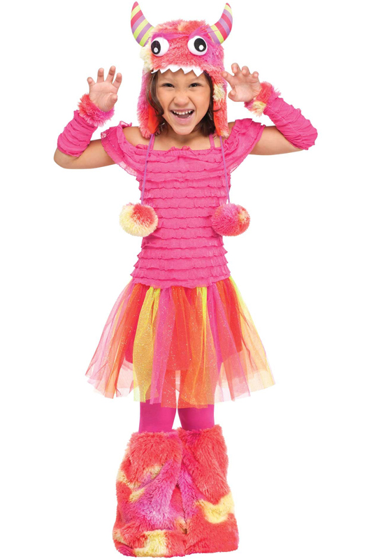 wild child monster toddler costume purecostumescom - Baby Monster Halloween Costumes