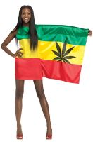 Rasta Girl Adult Costume