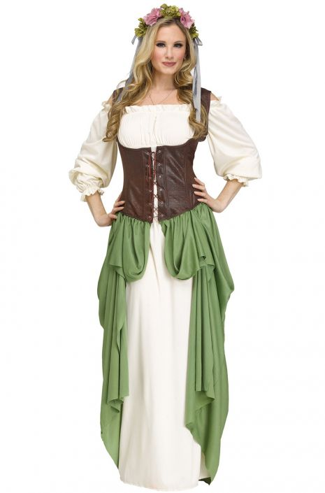 f2442363fa3 Serving Wench Adult Costume - PureCostumes.com