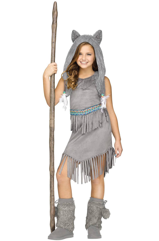 Wolf Dancer Child Costume