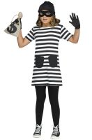Miss Burglar Child Costume