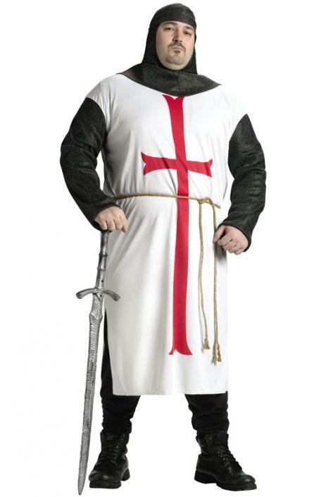 Templar Knight Plus Size Costume  sc 1 st  Pure Costumes & Templar Knight Plus Size Costume - PureCostumes.com