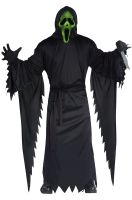 Light-Up Ghost Face Adult Costume