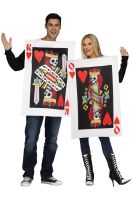 King & Queen of Hearts Adult Couples Costume