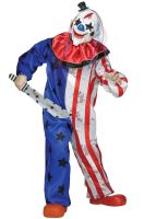 Evil Circus Clown Child Costume