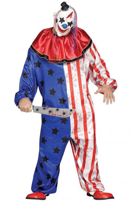 Evil Circus Clown Plus Size Costume  sc 1 st  Pure Costumes & Evil Circus Clown Plus Size Costume - PureCostumes.com