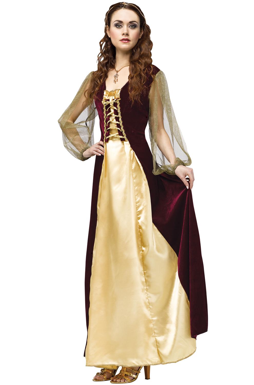 Shakespeare's's Renaissance Medieval Juliet Adult Costume