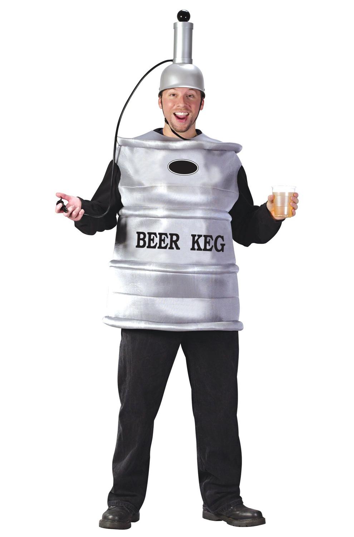 Beer Keg Adult Costume Purecostumes Com