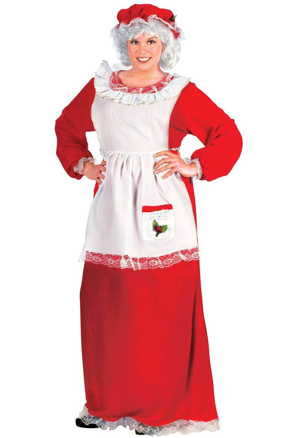Mrs Claus Plus Size Costume Purecostumes Com