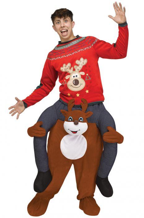 Carry Me Reindeer Adult Costume  sc 1 st  Pure Costumes & Carry Me Reindeer Adult Costume - PureCostumes.com