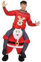 Carry Me Santa Adult Costume
