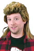 1980's Mullet Costume Wig