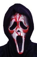 Bleeding Ghost Face Adult Mask