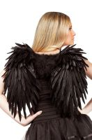 Angel Feather Wings (Black)