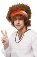 Hippie Fro Adult Wig