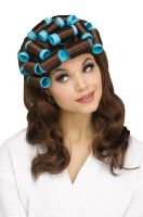 Housewife Curler Wig (Brown)