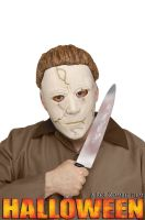 Michael Myers Memory-Flex Mask and Knife