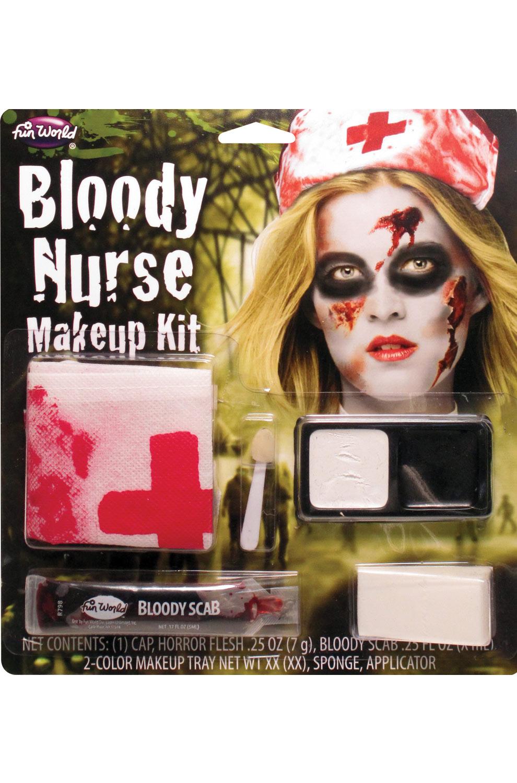 Bloody Nurse Makeup Kit Standart
