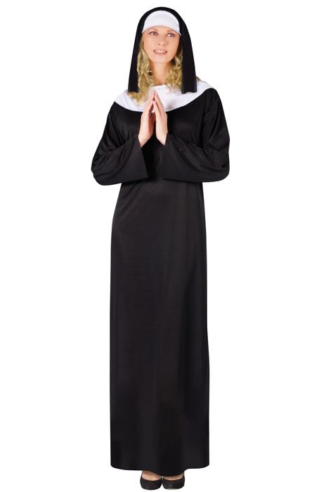 Nun Adult Costume  sc 1 st  Pure Costumes & Nun Adult Costume - PureCostumes.com