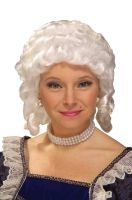 Colonial Woman Wig (White)