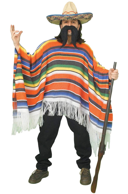 Mexican Serape Adult Costume Purecostumes Com