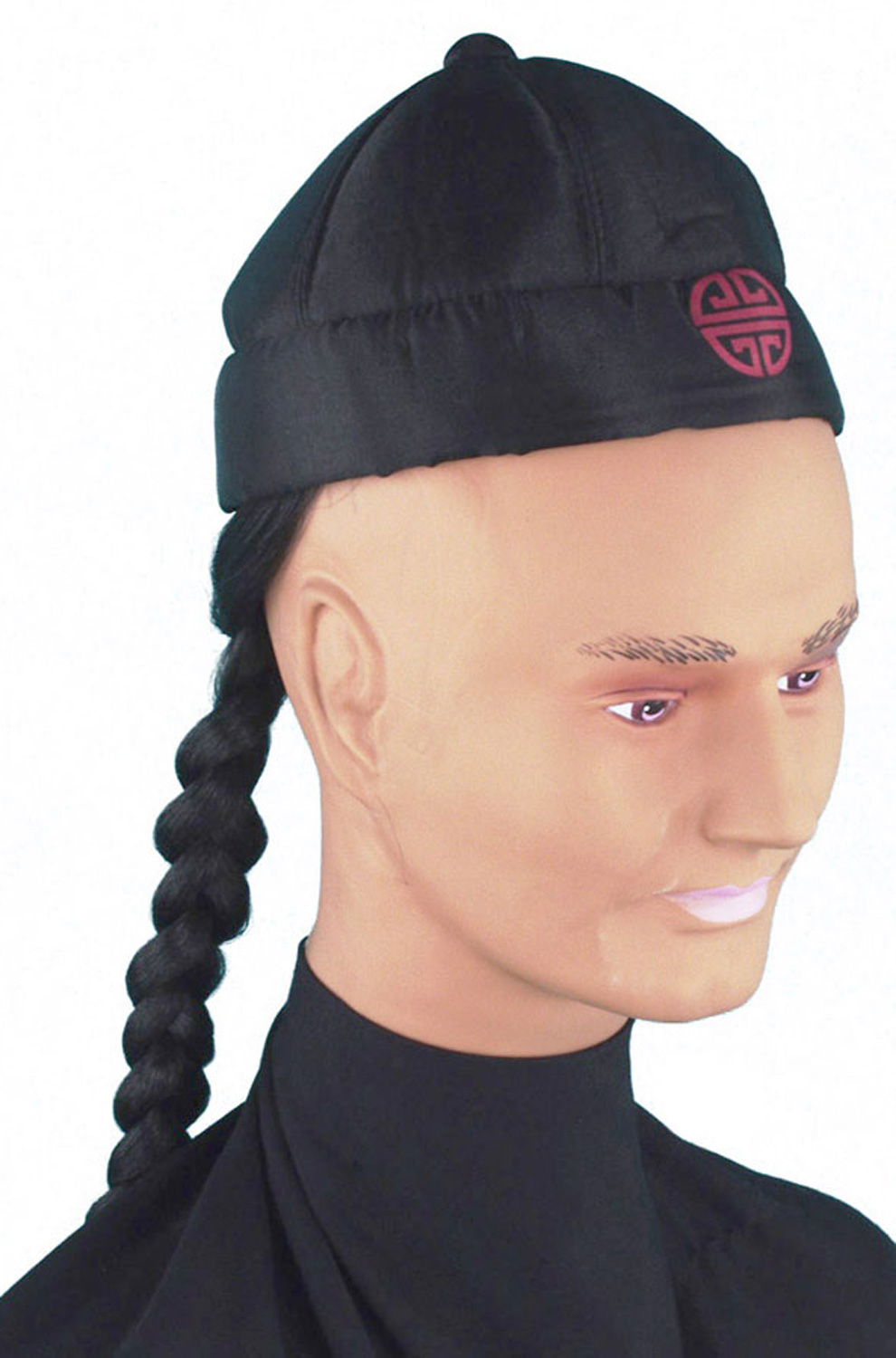 Chinese Man S Pigtail Hat Purecostumes Com