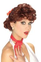 50's Housewife Adult Wig (Auburn)