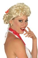 50's Housewife Adult Wig (Blonde)
