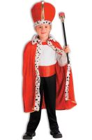 King Robe and Crown Set (Red)