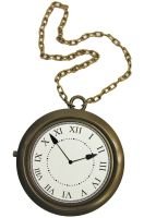Oversized Clock Necklace