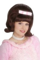 Bouffant Wig (Brown)