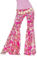 Flower Power Bell Bottoms Adult Costume