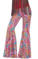 Wild Swirl Bell Bottoms Adult Costume