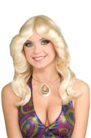70s Disco Doll Wig (Blonde)