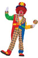 Clown on the Town Child Costume (M)