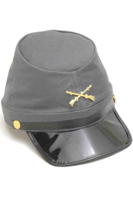 c9779b6ba55 Confederate Soldier Kepi Hat - PureCostumes.com