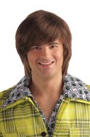 70s Dude Wig (Brown)