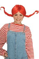 Hillbilly Pigtails Wig (Red)