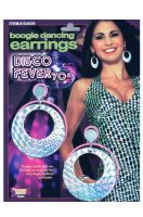 Boogie Dancing Disco Earrings