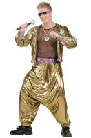 80's Video Super Star Adult Costume
