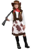 Cowgirl Child Costume (M)