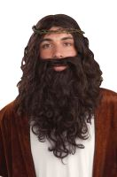 Biblical Savior Wig and Beard Set
