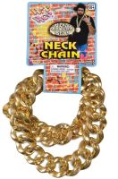 80's Big Links Neck Chain (Gold)