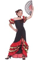 Flamenco Child Costume (M)
