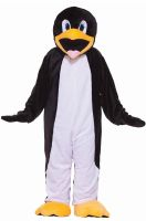 Deluxe Plush Penguin Mascot Adult Costume