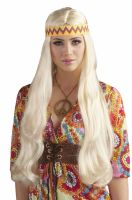 Hippie Chick Wig with Headband